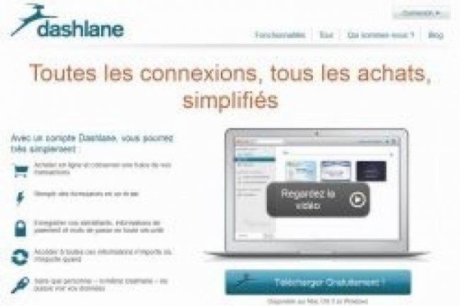 Le site Dashlane permet de conserver ses données personnelles, cryptées.