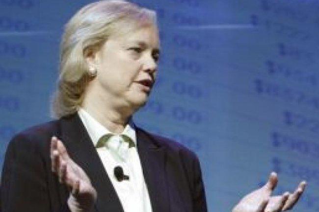 Meg Whitman, PDG  d'HP. Crédit : D.R