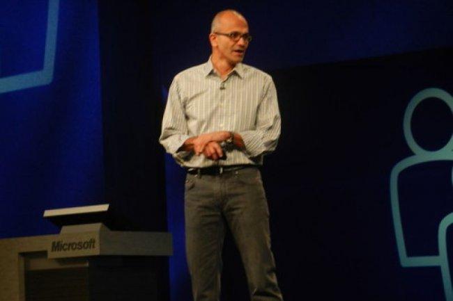 Satya Nadella, président de la division Servers & Tools de Microsoft à Orlando