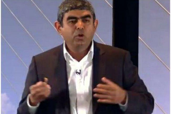 Vishal Sikka, directeur technique et membre du comit� ex�cutif de SAP (cr�dit : Sybase/SAP)