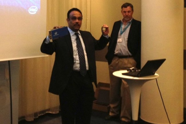 Dr Rajeeb Hazra, vice-président Architecture group chez Intel a assuré le lancement de cette plate-forme sur le salon ISC