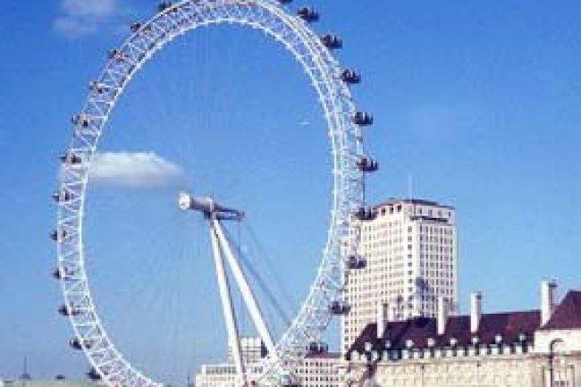 La roue de Londres s'�claire au rythme des tweets