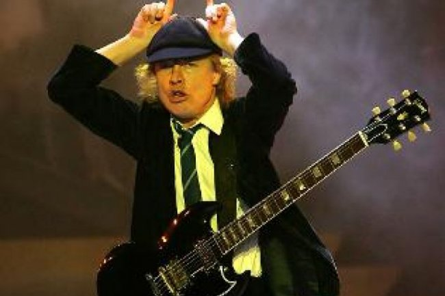 Angus Young; ACDC - Crédit Photo D.R.