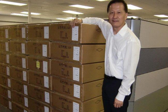 Lee Chen, CEO de A10 Networks, crédit S.L.