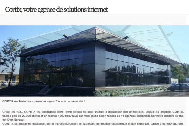 Le siège de Cortix à Bordeaux, crédit D.R.