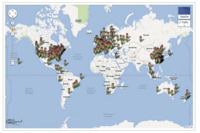 Google passe à l'info trafic en temps réel sur Maps