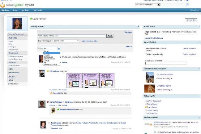 Social Sites 3.0 pour SharePoint : optimiser le réseautage social d'entreprise
