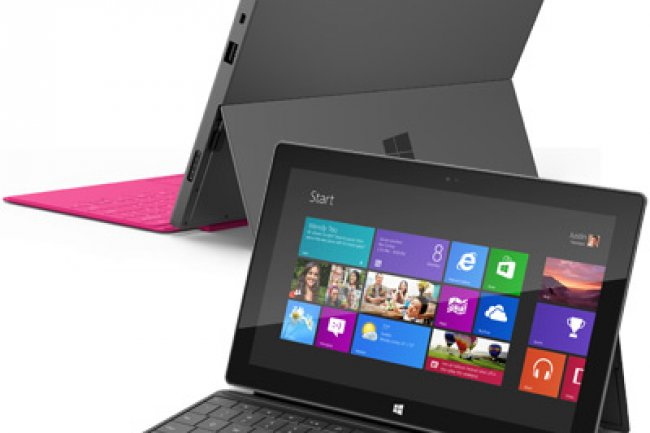 La tablette Surface de Microsoft sera disponible à la fois en version Intel (Windows 8) et ARM (Windows RT).