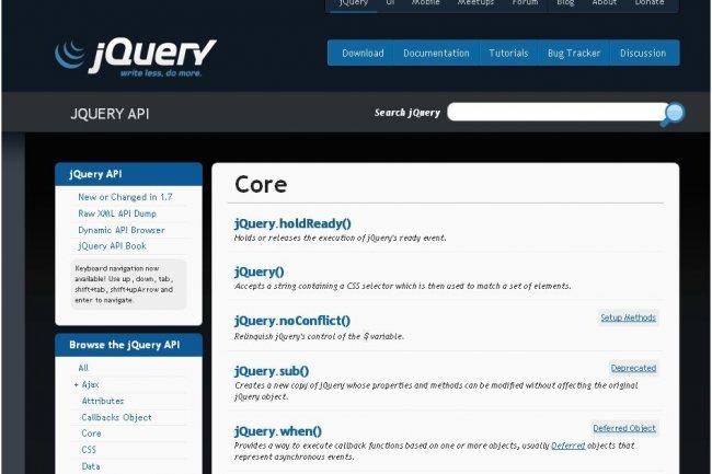 jQuery est la bibliothèque JavaScript la plus utilisée du marché