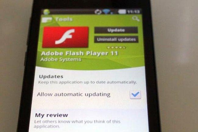 Android dit adieu à Flash