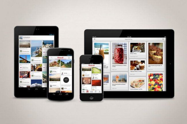Pinterest arrive sur les terminaux Android