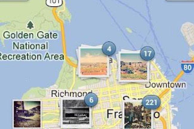 Instagram adopte la géolocalisation des photos