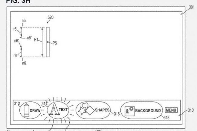 Extrait de l'un des deux brevets déposés par Apple le 16 août 2012 auprès de l'US Patent & Trademark Office.