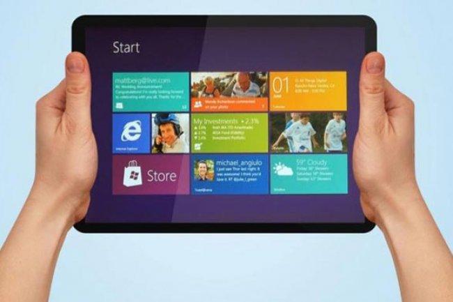 400 dollars pour les tablettes Microsoft avec puce ARM et Windows RT