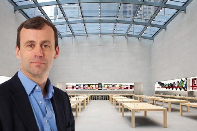 John Browett, vice-président en charge de l'activité distribution chez Apple