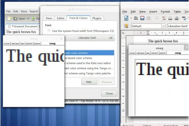 HardHacks, un programme pour corriger plus vite LibreOffice (ci-dessus fonctions de rendu de texte de la version 3.4).