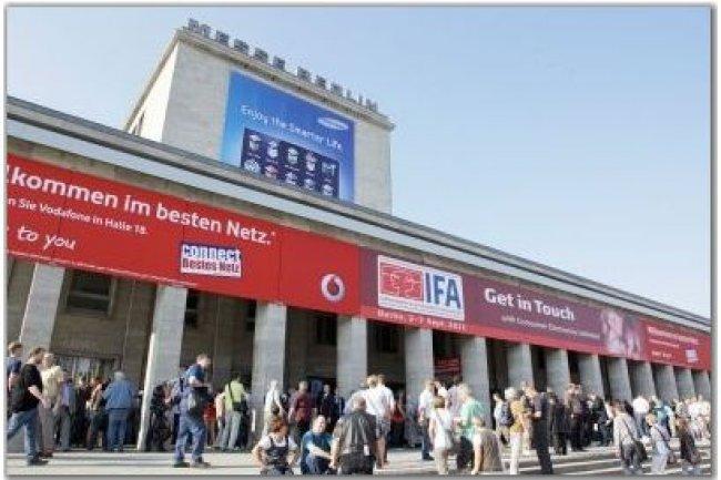 L'IFA 2012 se déroulera au Parc des expositions de Berlin, du 31 août au 5 septembre. (crédit photo : IFA Messe Berlin)