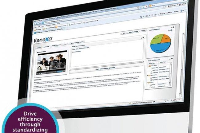 Parmi les solutions développées par Kenexa, une application d'accueil des nouveaux embauchés (onboarding).