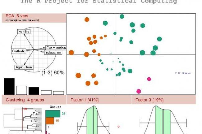 Oracle supporte plus largement le langage d'analyse statistique R