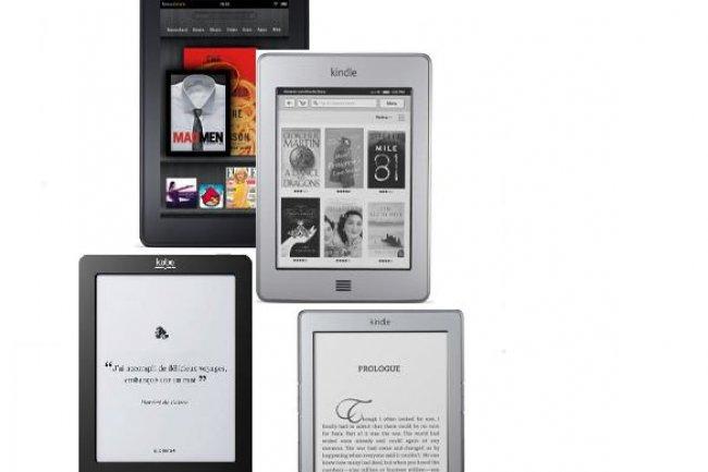 Lecteurs de livres électroniques : ventes multipliées par deux en un an, selon GfK