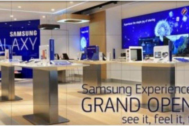 Samsung a récemment ouvert une boutique en Australie.