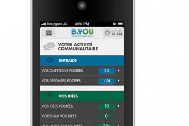 Perte nette de 71 000 clients Mobile pour Bouygues Telecom au 2e trimestre, mais l'offre B&You a enregistré une forte progression de ses abonnés (source image : blog B&You)