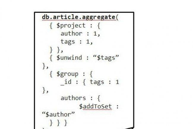 MongoDB 2.2 comprend des opérateurs qui facilitent l'extraction des données (crédit : 10gen).