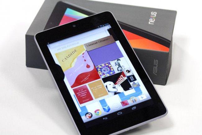 La Nexus 7 de Google relance le marché des tablettes 7 pouces
