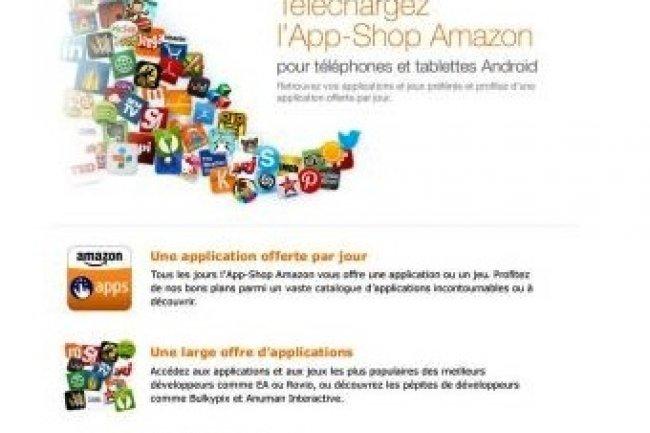 Amazon lance son App-Shop en France