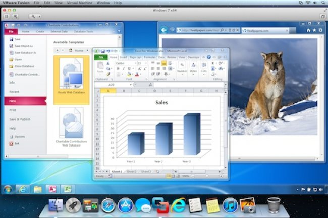 VMworld 2012 : Fusion 5 disponible pour Mac OS