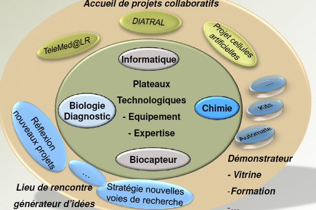 L'offre de services du Centre de recherche et innovation industrielle (CR2i). Crédit : D.R