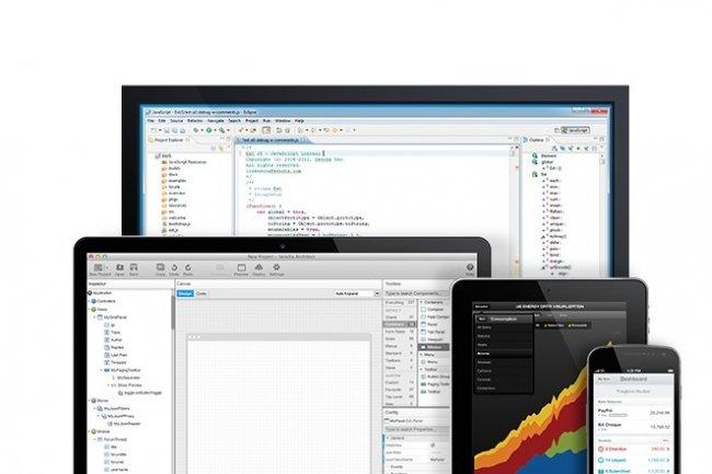 Sencha compose une suite élargie avec ses outils de développement HTML5