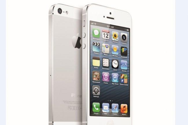 L'iPhone 5 se dévoile sans surprise : 4G, écran 4