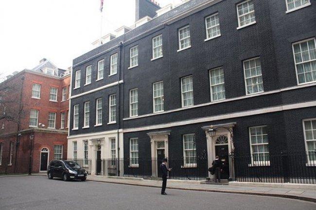 Le bureau du Premier Ministre britannique à Londres