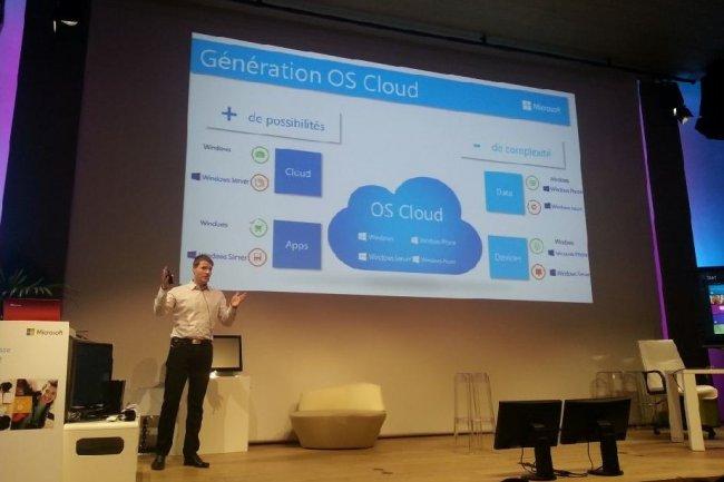 Nicolas Petit, directeur marketing et op�rations de Microsoft France