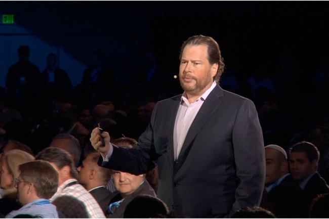 Marc Benioff, PDG de Salesforce.com (photo Kerry Davis / IDG NS San Francisco)