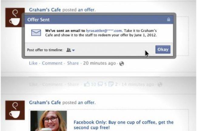 Le service Offers permet aux entreprises de faire des offres sur leur page Facebook.