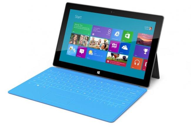489 euros pour la tablette Surface RT de Microsoft