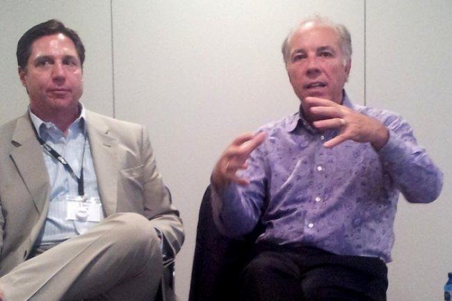 Mark Templeton, CEO et président de Citrix lors de la conférence Synergy de Barcelone