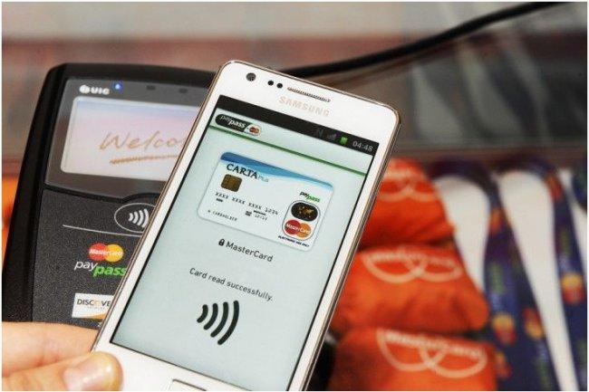 Une démonstration du PayPass Wallet à New York en septembre 2012. (Crédit : MasterCard)