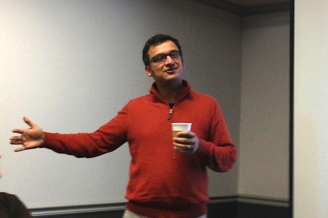 Praerit Garg, cofondateur et pr�sident de la jeune pousse SymForm bas�e � Seattle