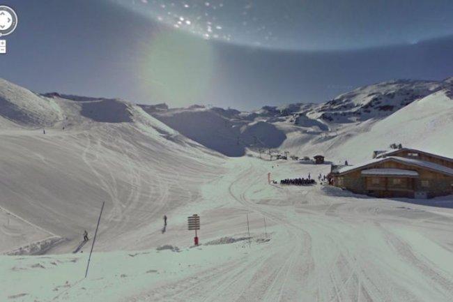 Le domaine skiable des 2 Alpes est désormais consultable via Street View.