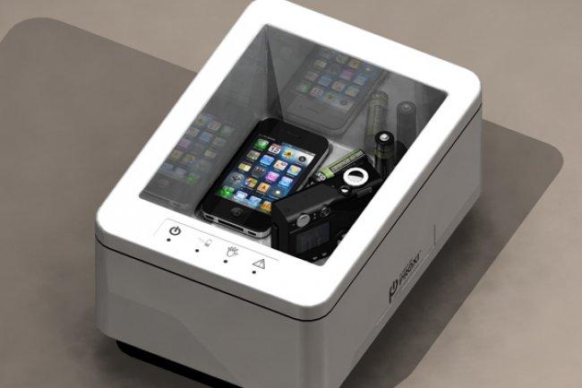 Le caisson de PowerbyProxi peut charger jusqu'� huit appareils en m�me temps