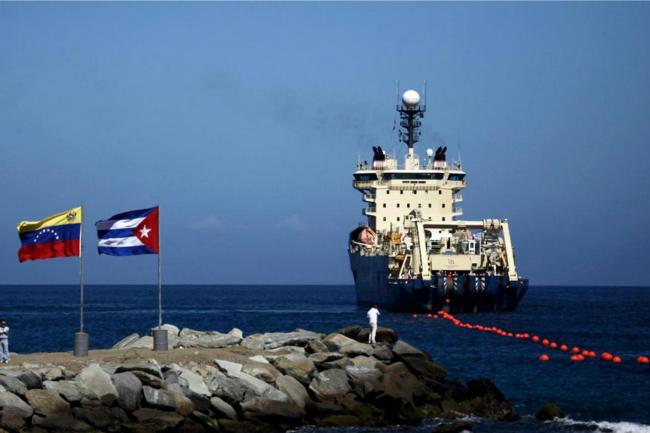 Le navire d'Alacatel-Lucent qui a assuré le pose du câble ALBA-1 entre Cuba et le Vénézuela