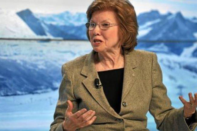 Neelie Kroes, vice-présidente de la Commission européenne, appelle à une action commune pour pallier au manque de compétences IT en Europe. Crédit: D.R