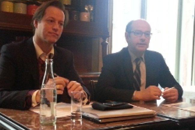 Jean Noel de Galzain, PDG de Wallix et François Nogaret, associé chez Mazars