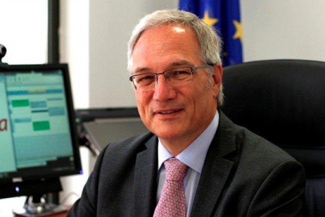 Le professeur Udo Helmbrecht, directeur exécutif de l'ENISA