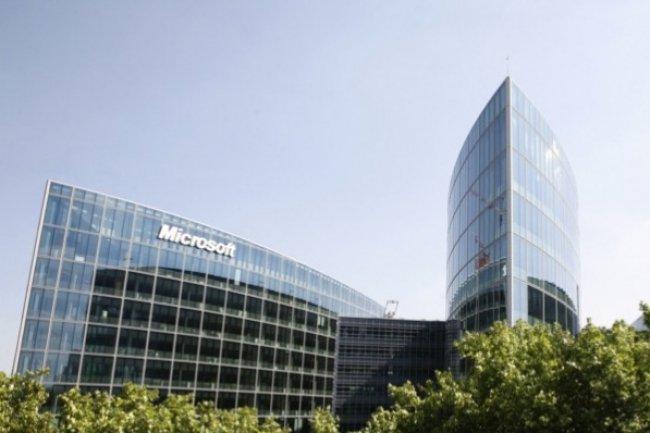 Le siège de Microsoft France à Issy les Moulineaux