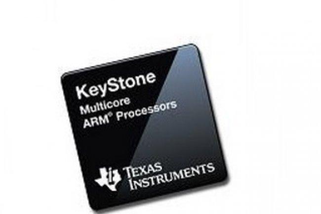 Les puces ARM Keystone de Texas Instrument sont d�di�es au cloud computing, au VDI  et aux traitements audio-vid�o