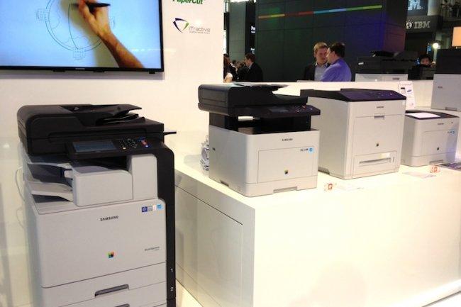 Pour étoffer les fonctions de ses imprimantes laser, Samsung a noué des partenariats avec des éditeurs comme Nuance.